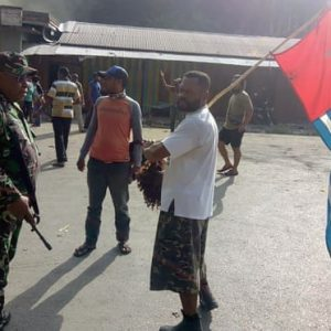 West Papuan leader taken into custody in dramatic arrest