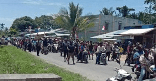 Spikes of Violence: Protest in West Papua