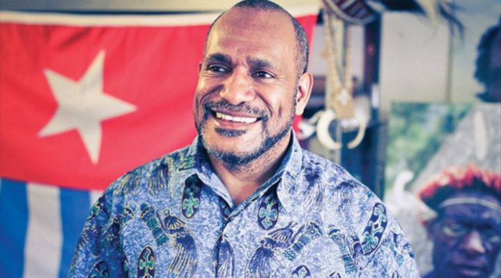 West Papuan independence leader Benny Wenda. Supplied