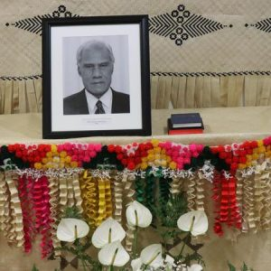 Nation marks the funeral of Tongan PM