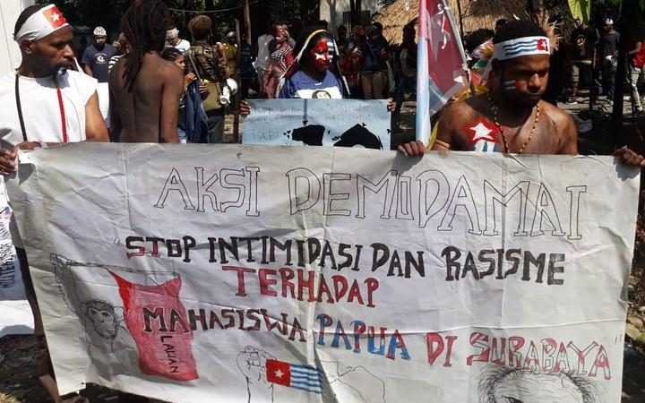 Tensions high in Papua with militia groups in the mix