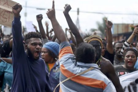 Australians rally in support of Papua protesters as Human Rights Watch decries Indonesian violence