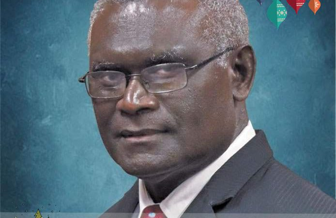 Christmas Message by the Prime Minister Manasseh Damukana Sogavare, MP