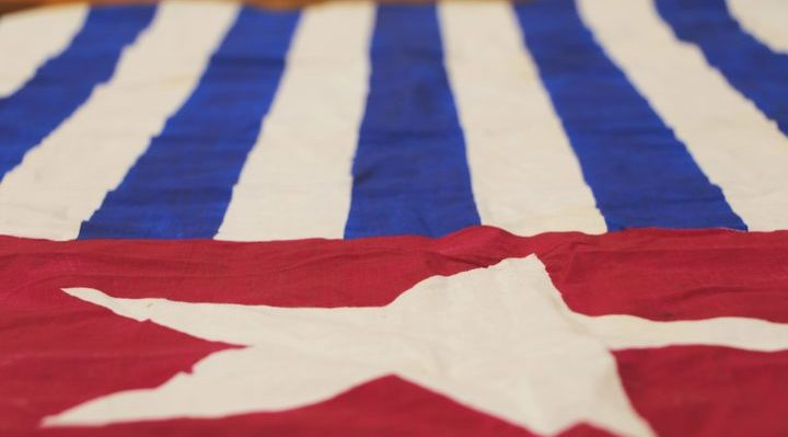 The Morning Star flag a symbol of the West Papuan Independence movement. Photo: RNZ PAcific/ Koroi Hawkins