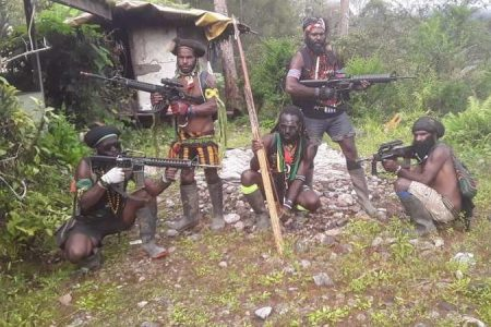 Papua Liberation Army sold arms by Indonesian military