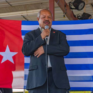 'Don't be afraid' – give Bougainville, West Papua freedom, says Parkop