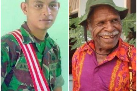 West Papua: Man held for stealing soldier's handgun