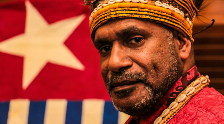 West Papuan independence leader Benny Wenda.West Papuan independence leader Benny Wenda. Photo: RNZI/ Koroi Hawkins
