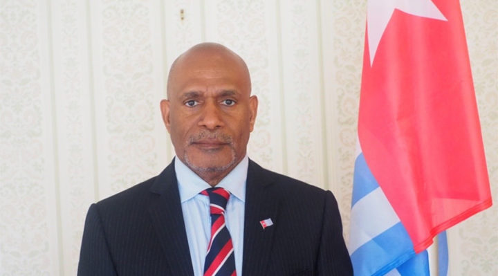 """""""We don't know how the international community will react, but we have to show them that the Papuans are ready and that they deserve serious support."""" says Benny Wenda, president of the provisional government. (Photo: Private)"""