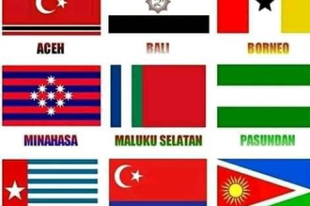 42 Nations and Regions to be Free from Indonesian colonial EMpire
