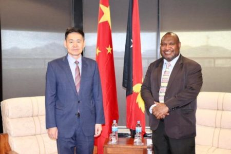 PNG PM James Marape briefed on Chinese investments